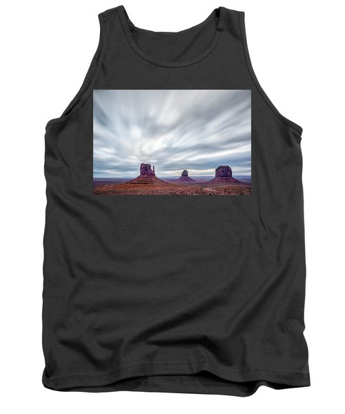 Morning In Monument Valley Tank Top by Jon Glaser