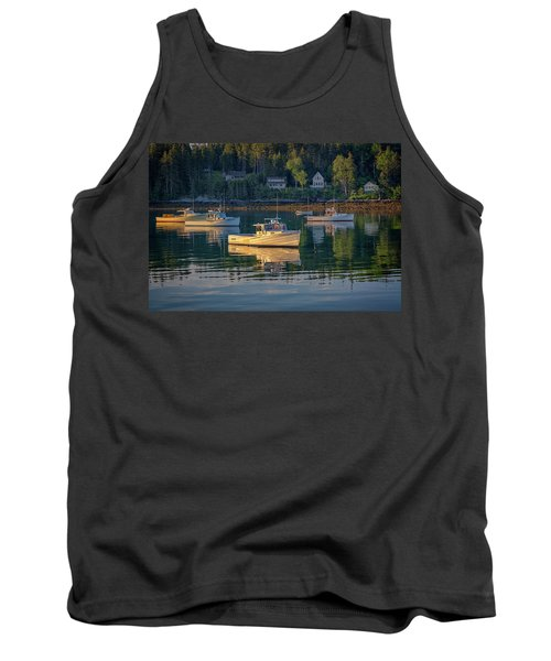 Tank Top featuring the photograph Morning In Tenants Harbor by Rick Berk