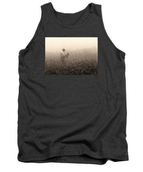 Tank Top featuring the photograph Morning In The Fields by Stephen Flint