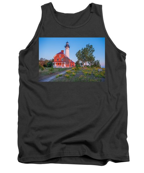Morning Light At Au Sable Point Tank Top
