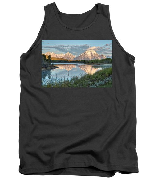 Morning Light At Oxbow Bend Tank Top