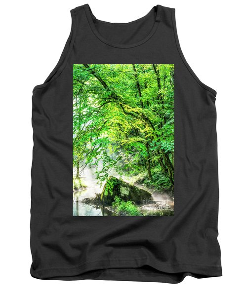 Morning Light In The Forest Tank Top