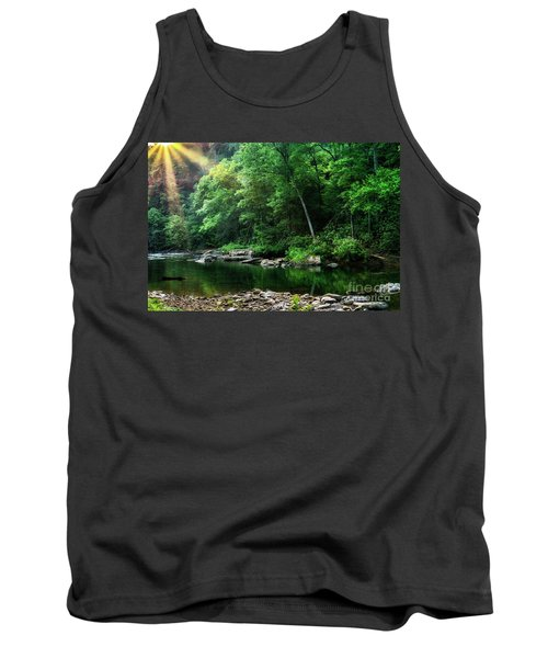 Morning Light On Williams River  Tank Top