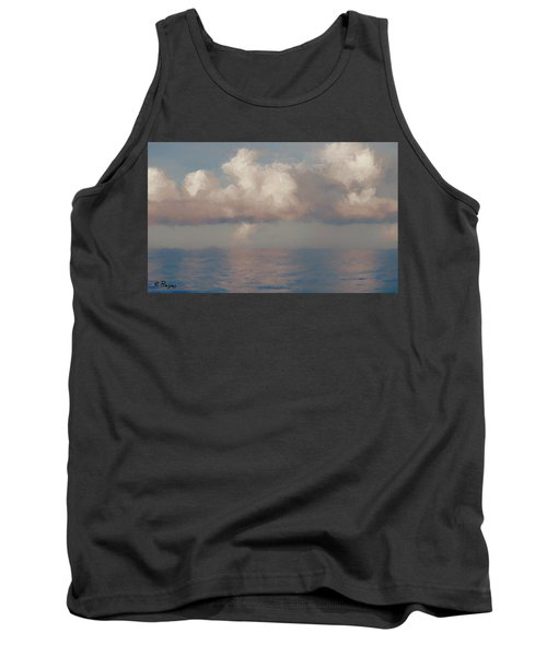 Tank Top featuring the painting Morning Lights by Rosario Piazza