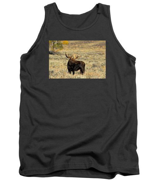 Morning Moose Tank Top