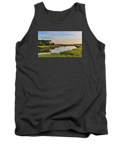 Morning On The Creek - Wild Dunes Tank Top