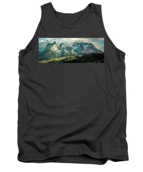 Tank Top featuring the photograph Morning Shadows by Andrew Matwijec