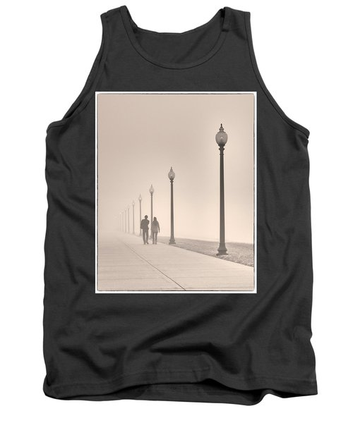 Morning Walk Tank Top by Don Spenner