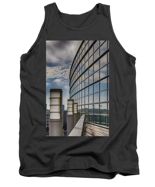 Tank Top featuring the photograph Moscone West Balcony by Darcy Michaelchuk