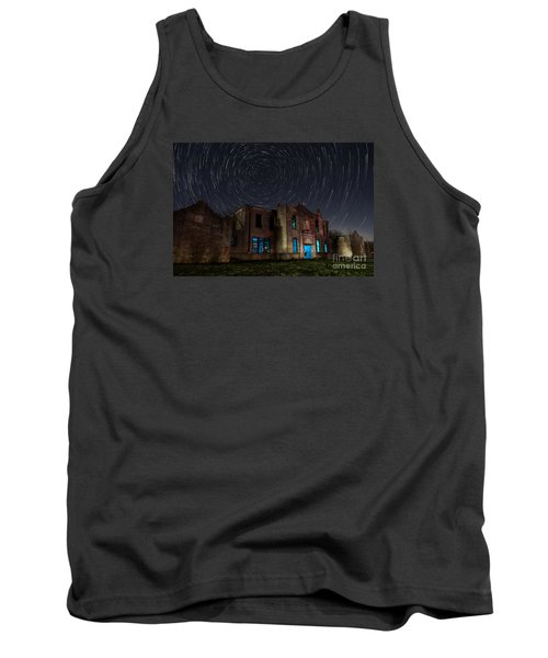 Mosheim Texas Schoolhouse Tank Top by Keith Kapple