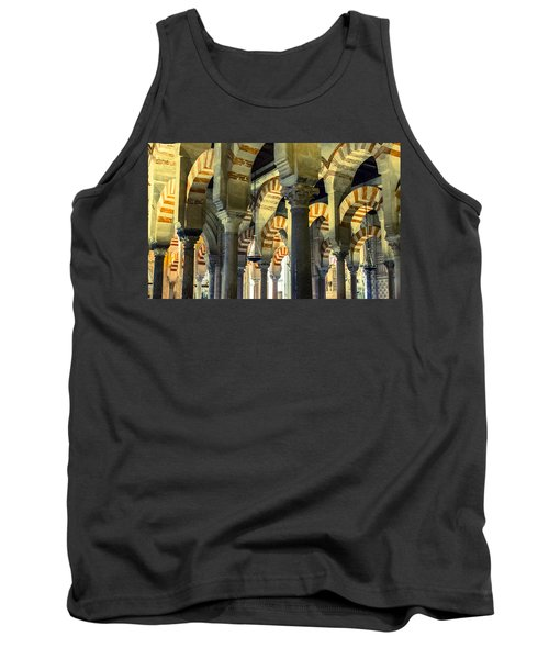 Mosque Cathedral Of Cordoba 2 Tank Top
