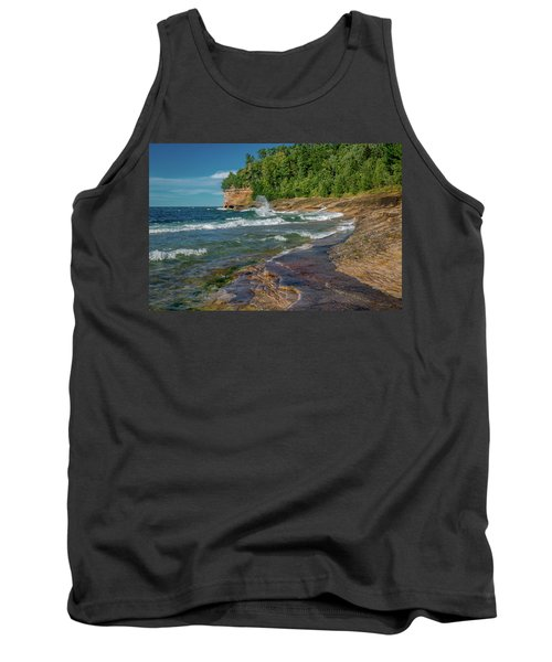 Mosquito Harbor Waves  Tank Top