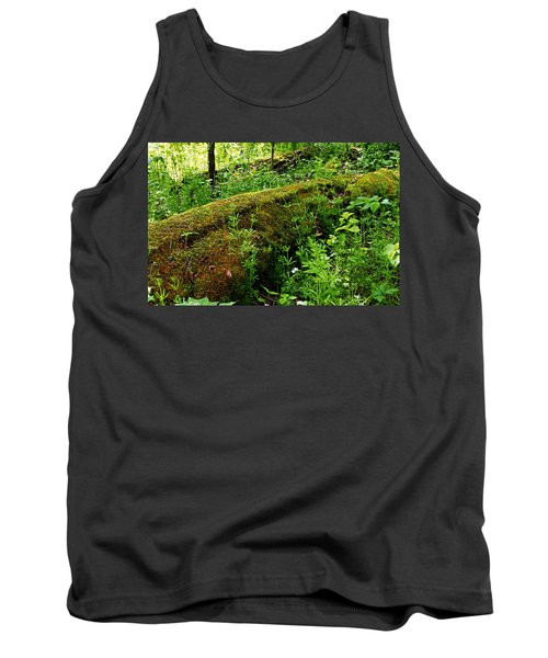 Moss Covered Log 2 Tank Top