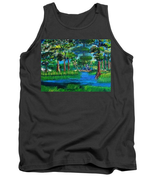 Moss Picker Impression Digital Tank Top