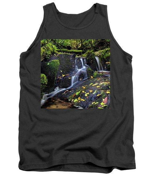 Emerald Cascades Tank Top
