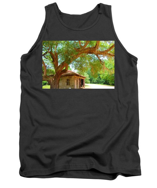 Mossy Tree In Natchez Tank Top
