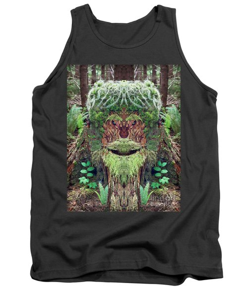 Tank Top featuring the photograph Mossman Tree Stump by Martin Konopacki