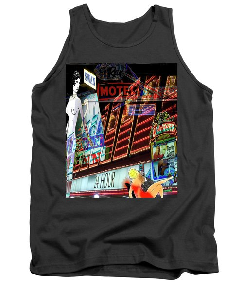 Motel Variations 24 Hours Tank Top by Ann Tracy