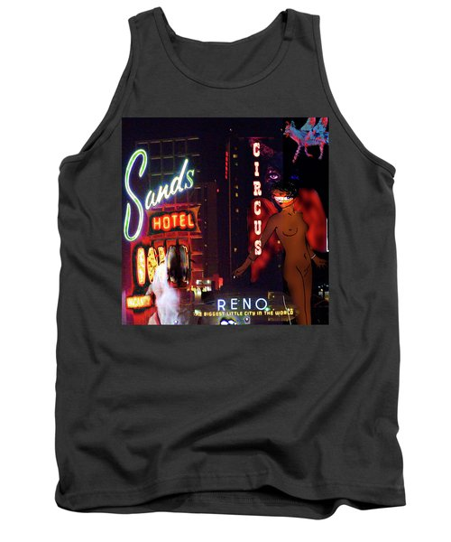 Motel Variations Angels Tank Top by Ann Tracy