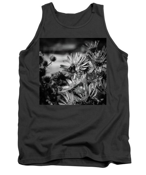 Moth And Flowers Tank Top