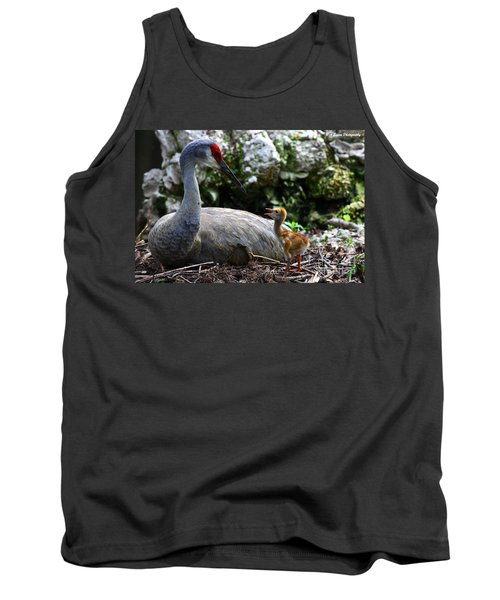 Mother Listening Tank Top
