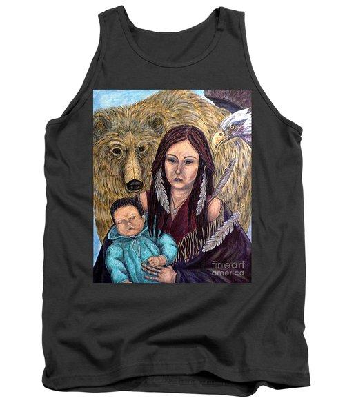 Motherhood-guardian Spirits Tank Top