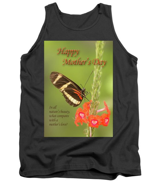 Mother's Day-butterfly Tank Top