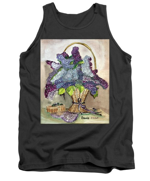Mothers Day Lilacs Tank Top