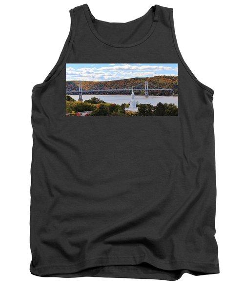 Mount Carmel And The Mid Hudson Bridge Tank Top