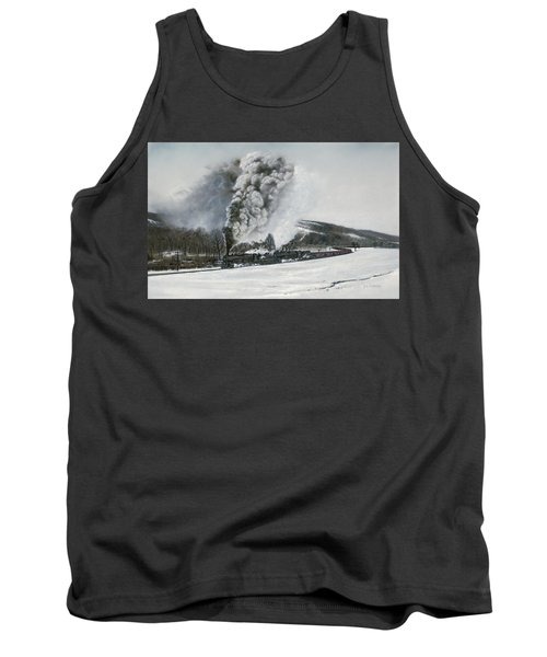 Mount Carmel Eruption Tank Top