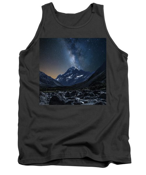 Mount Cook At Night Tank Top by Martin Capek