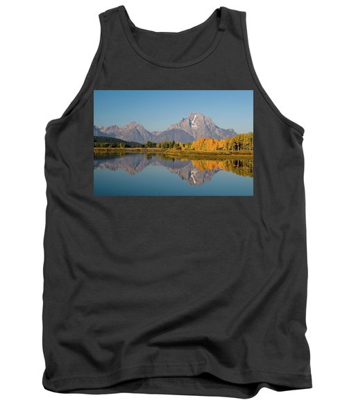 Tank Top featuring the photograph Mount Moran by Steve Stuller