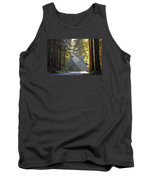 Mount Rainier At Nisqually Tank Top