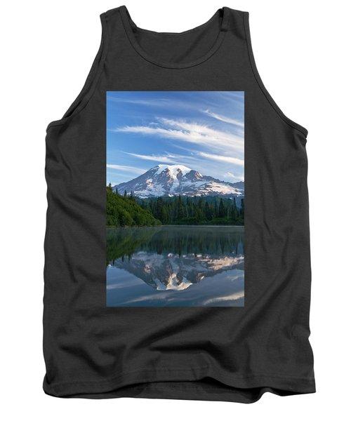 Mount Rainier Reflections Tank Top