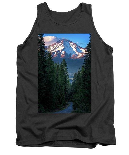 Mount Shasta - A Roadside View Tank Top