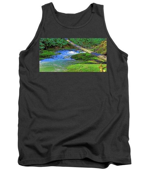 Mountain Appalachian Stream Tank Top