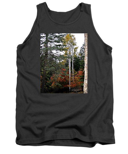 Mountain Autumn Tank Top