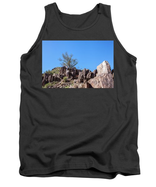 Tank Top featuring the photograph Mountain Bush by Ed Cilley