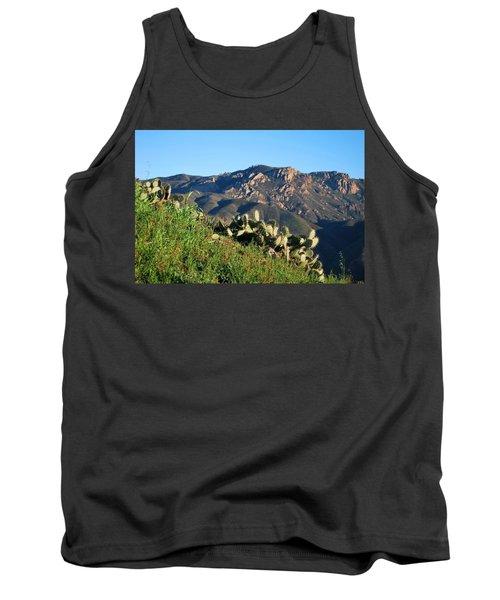 Mountain Cactus View - Santa Monica Mountains Tank Top