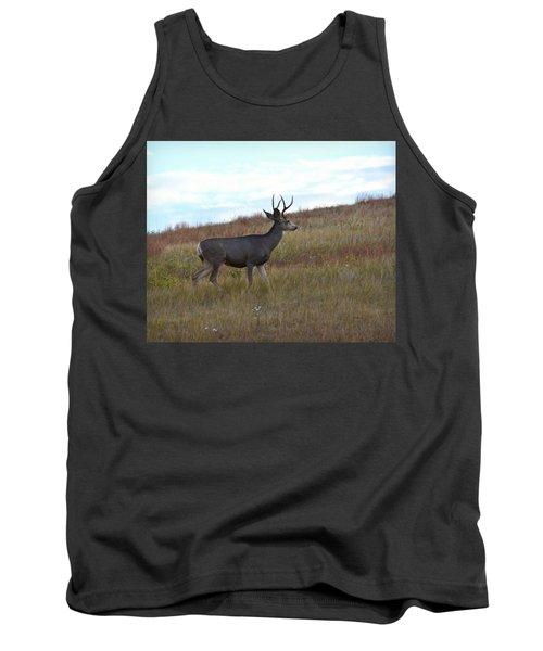 Mountain Climbing Deer Tank Top