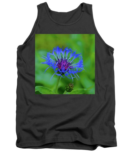 Mountain Cornflower Tank Top