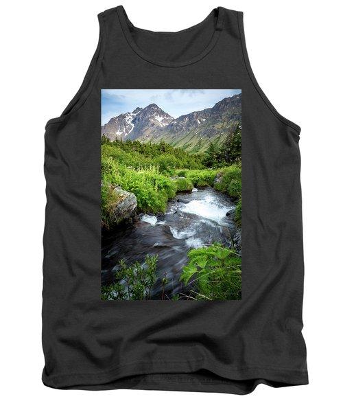 Mountain Creek In Early Summer Tank Top