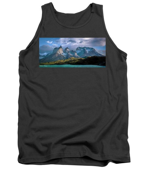 Tank Top featuring the photograph Mountain Dream by Andrew Matwijec