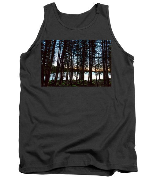 Tank Top featuring the photograph Mountain Forest Lake by James BO Insogna