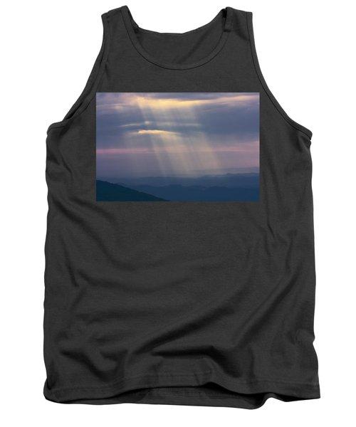Mountain God Rays Tank Top