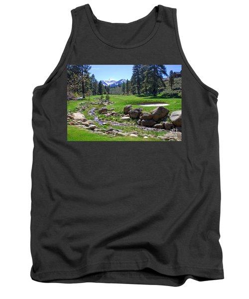 Mountain Golf Course Tank Top