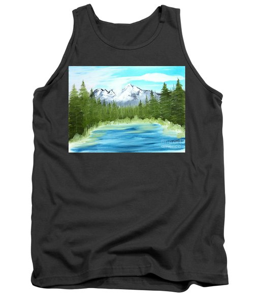 Mountain Imagining Tank Top