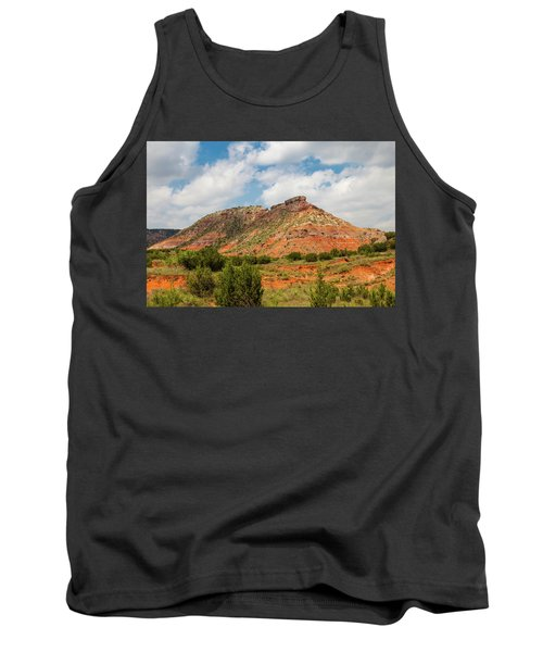 Mountain In Palo Duro Canyons Tank Top