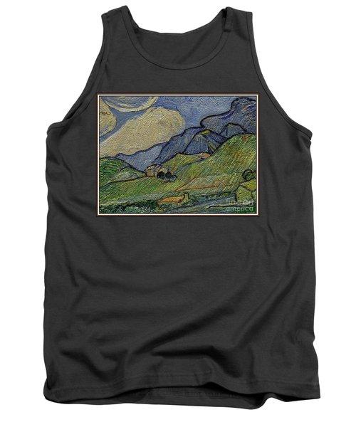 Mountain Landscape Tank Top by Pemaro