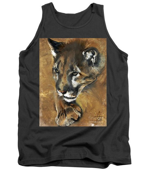 Mountain Lion - Guardian Of The North Tank Top